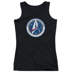 Star Trek Discovery Juniors Tank Top - Starfleet Command