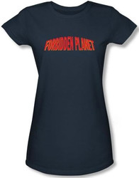 Image for Forbidden Planet Logo Girls Shirt