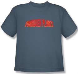 Image for Forbidden Planet Logo Youth T-Shirt