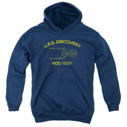 Star Trek Discovery Youth Hoodie - Discovery Athletic