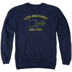Star Trek Discovery Crewneck - Discovery Athletic