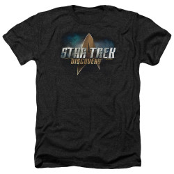 Image for Star Trek Discovery Heather T-Shirt - Logo