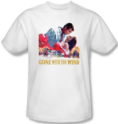 Image Closeup for Gone With the Wind On Fire T-Shirt
