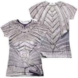 Image for Star Trek Discovery Girls Sublimated T-Shirt - White Klingon Uniform