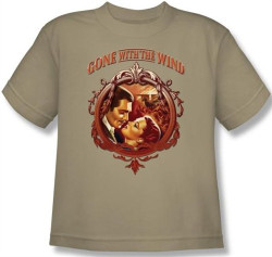 Image for Gone With the Wind Classic Romance Youth T-Shirt