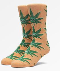 Image for Green Buddy Crew Socks - Orange