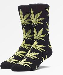 Image for PlantLife Crew Socks - Black