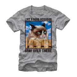 Image for Grumpy Cat T-Shirt - Stay Over There
