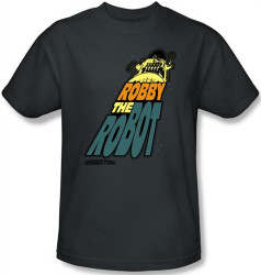 Image Closeup for Forbidden Planet Robby the Robot T-Shirt