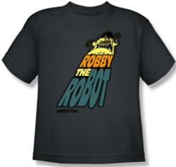 Image for Forbidden Planet Robby the Robot Youth T-Shirt