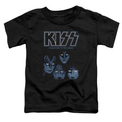 Image for Kiss Toddler T-Shirt - Creatures of the Night
