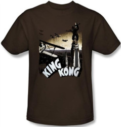 Image Closeup for King Kong Final Battle T-Shirt