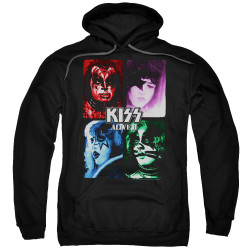 Image for Kiss Hoodie - Alive II Cover