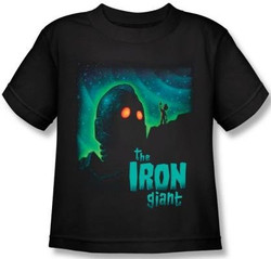 Image for The Iron Giant Look to the Stars Kids T-Shirt
