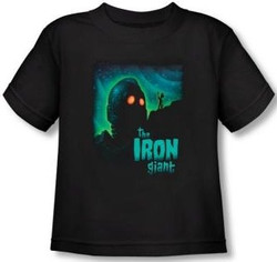 Image for The Iron Giant Look to the Stars Toddler T-Shirt