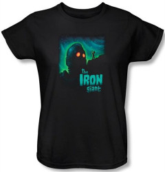 Image for The Iron Giant Look to the Stars Woman's T-Shirt