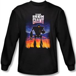 Image for The Iron Giant Poster long sleeve T-Shirt