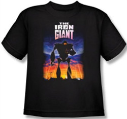 Image for The Iron Giant Poster Youth T-Shirt