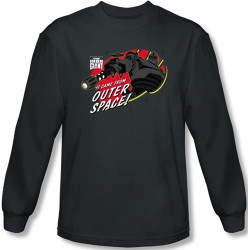 Image for The Iron Giant It Came From Outer Space long sleeve T-Shirt