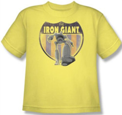 Image for The Iron Giant Patch Youth T-Shirt