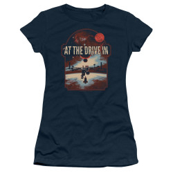 Image for At the Drive In Girls T-Shirt - Space