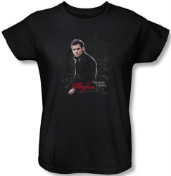 Image for The Vampire Diaries Stefan Women's T-Shirt