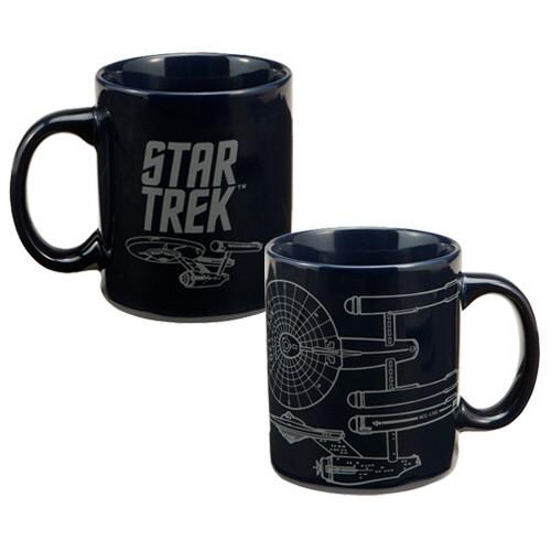 Star trek enterprise blueprint coffee mug nerdkungfu image for star trek enterprise blueprint coffee mug malvernweather Images