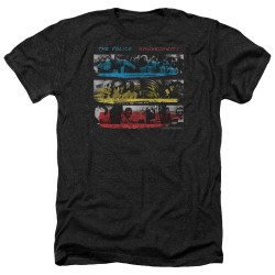 Image for The Police Heather T-Shirt - Syncronicity