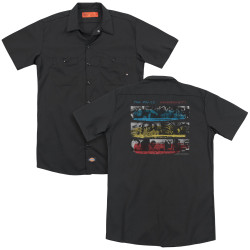 Image for The Police Dickies Work Shirt - Syncronicity