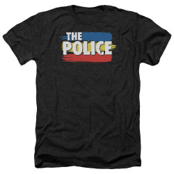 Image for The Police Heather T-Shirt - Three Stripes