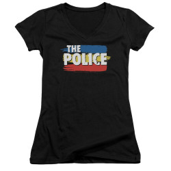 Image for The Police Girls V Neck - Three Stripes