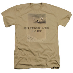 Image for ZZ Top Heather T-Shirt - Rio Grande Mud