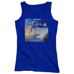 Image for ZZ Top Girls Tank Top - Tejas