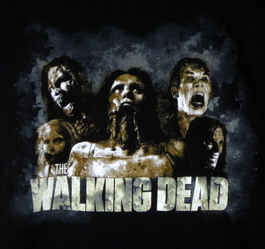 Image for The Walking Dead T-Shirt - Zombies Cracked