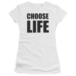 Image for Wham! Girls T-Shirt - Choose Life