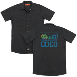 Image for Wham! Dickies Work Shirt - Wake Me Up Before You Go Go