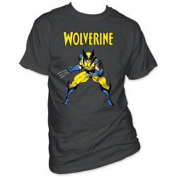 Image Closeup for Wolverine T-Shirt