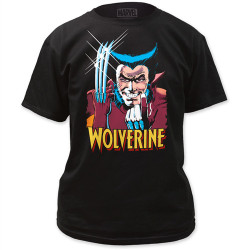 Image Closeup for Wolverine T-Shirt - Come at Me