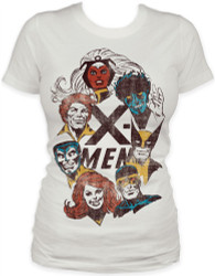 Image for X-Men Girls T-Shirt - Portraits