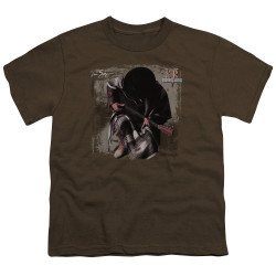 Image for Stevie Ray Vaughan Youth T-Shirt - In Step