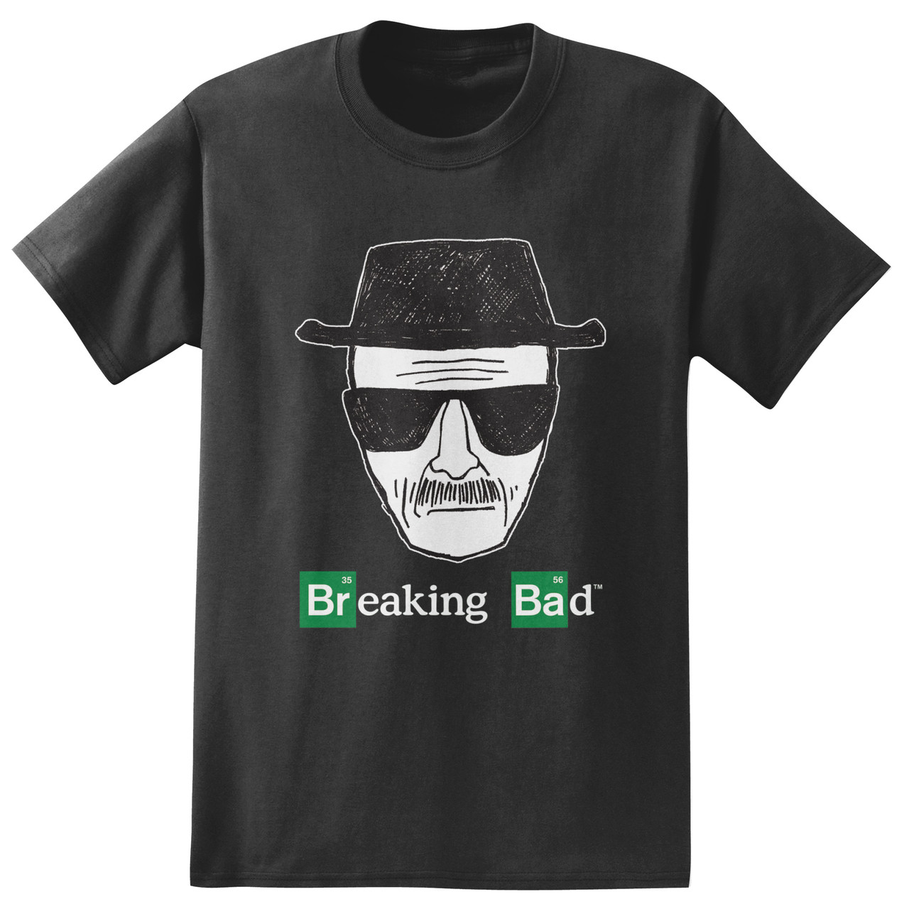 f8eda48abfa4 Breaking Bad T-Shirt - Heisenberg Sketch. Loading zoom