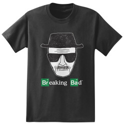 Image for Breaking Bad T-Shirt - Heisenberg Sketch