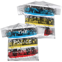 Image for The Police Youth Sublimated T-Shirt - Synchronicity
