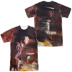 Image for Stevie Ray Vaughan Sublimated T-Shirt - Weather 100% Polyester