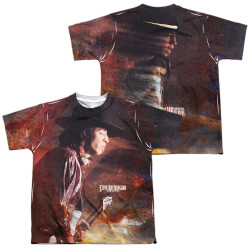 Image for Stevie Ray Vaughan Youth Sublimated T-Shirt - Weather