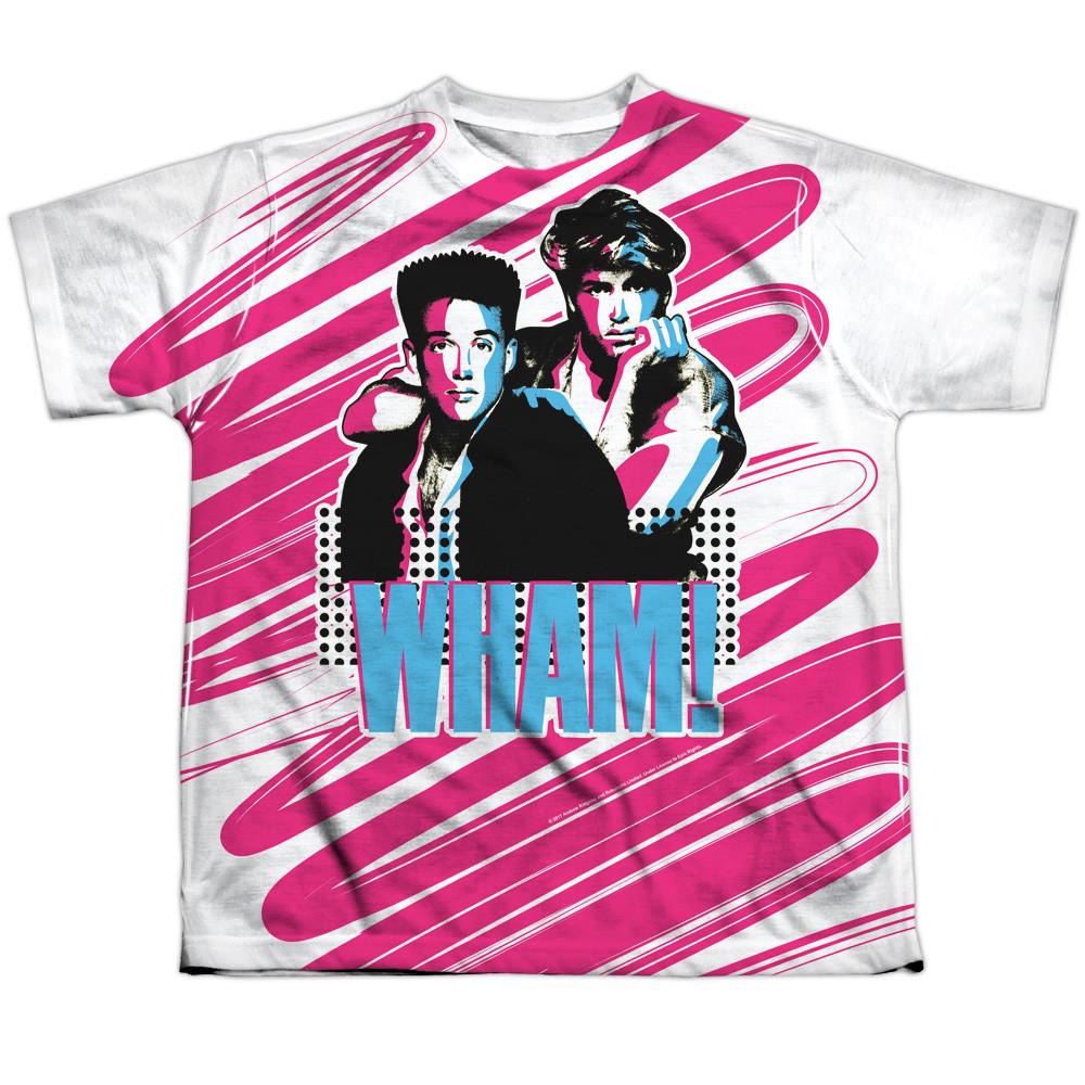 cf23a69b Wham! Youth Sublimated T-Shirt - Boys - NerdKungFu