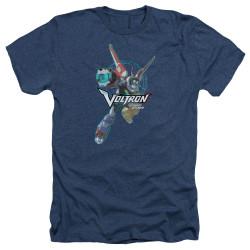 Image for Voltron: Legendary Defender Heather T-Shirt - Defender Pose