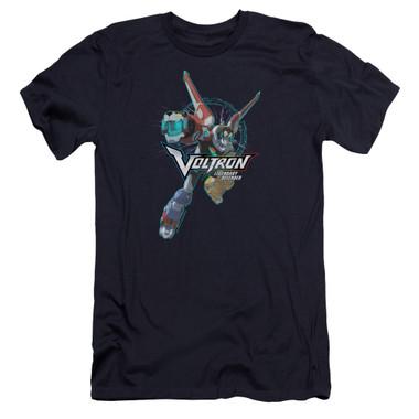 Image for Voltron: Legendary Defender Premium Canvas Premium Shirt - Defender Pose