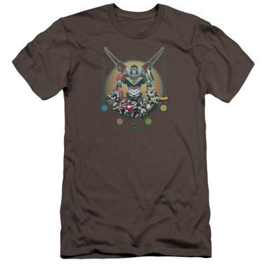 Image for Voltron: Legendary Defender Premium Canvas Premium Shirt - Assemble