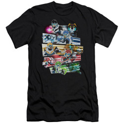 Image for Voltron: Legendary Defender Premium Canvas Premium Shirt - Paladins Strike